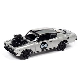 Plymouth PLYMOUTH BARRACUDA CUSTOM #54(1967)silver white metallic with black trimm