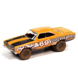Plymouth PLYMOUTH ROAD RUNNER OFF-ROAD #69(1969)orange with race graphics