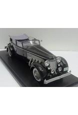 Duesenberg by Rollson DUESENBERG SJ TOWN CAR CHASSIS 2405 BY ROLLSON FOR Mr.RUDOLF BAUER-1937(open top/windows up)black