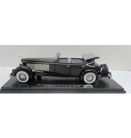 Duesenberg by Rollson DUESENBERG SJ TOWN CAR CHASSIS 2405 BY ROLLSON FOR Mr.RUDOLF BAUER-1937(open top)black