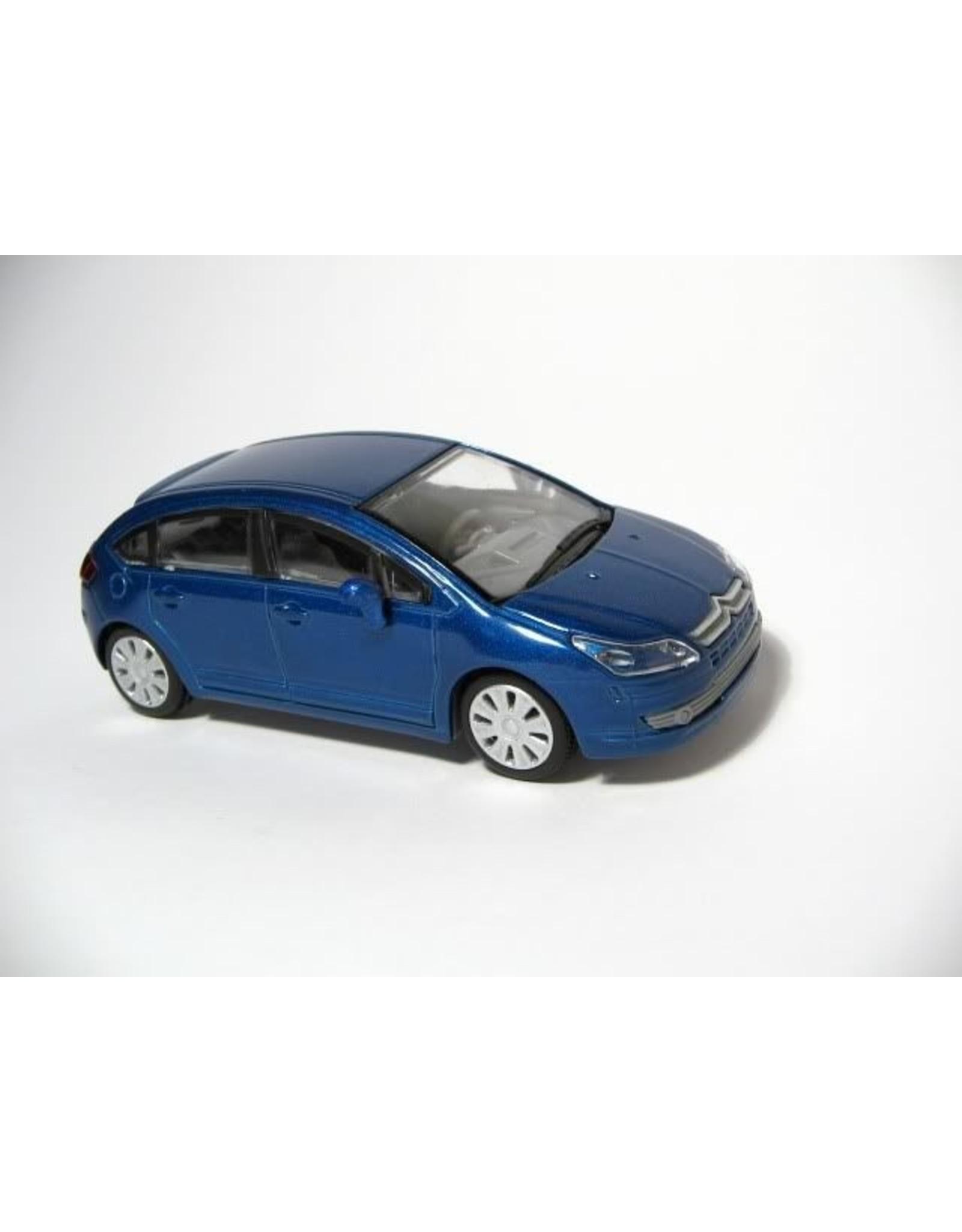 Citroën CITROËN C4(blue metallic)or copper brown metallic
