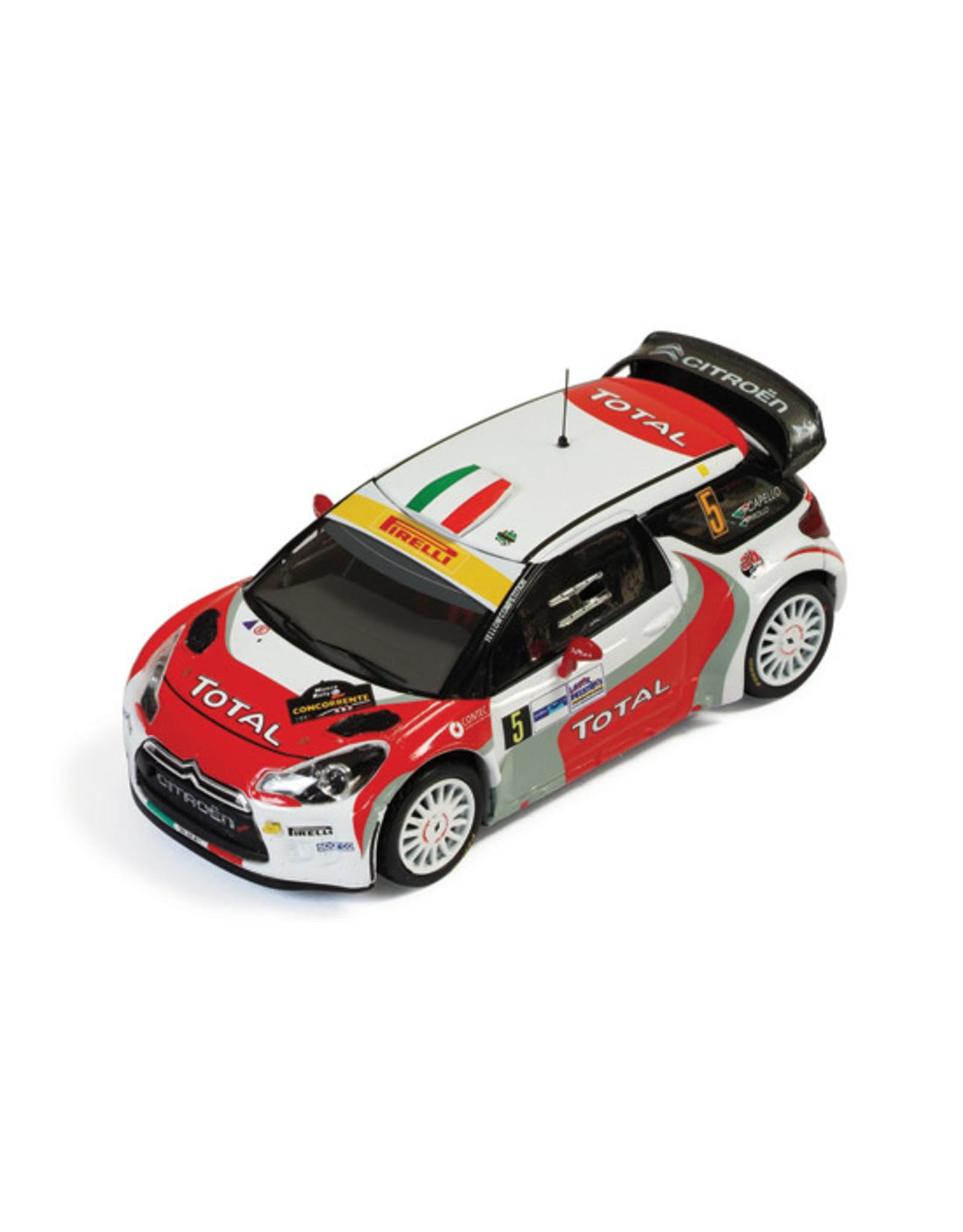 Citroën CITROËN DS3 WRC #5(R.Capello-L.Pirollo)3rd MONZA RALLY-2011
