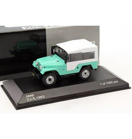 Kaiser Jeep JEEP CJ-5(clear green/white)1963