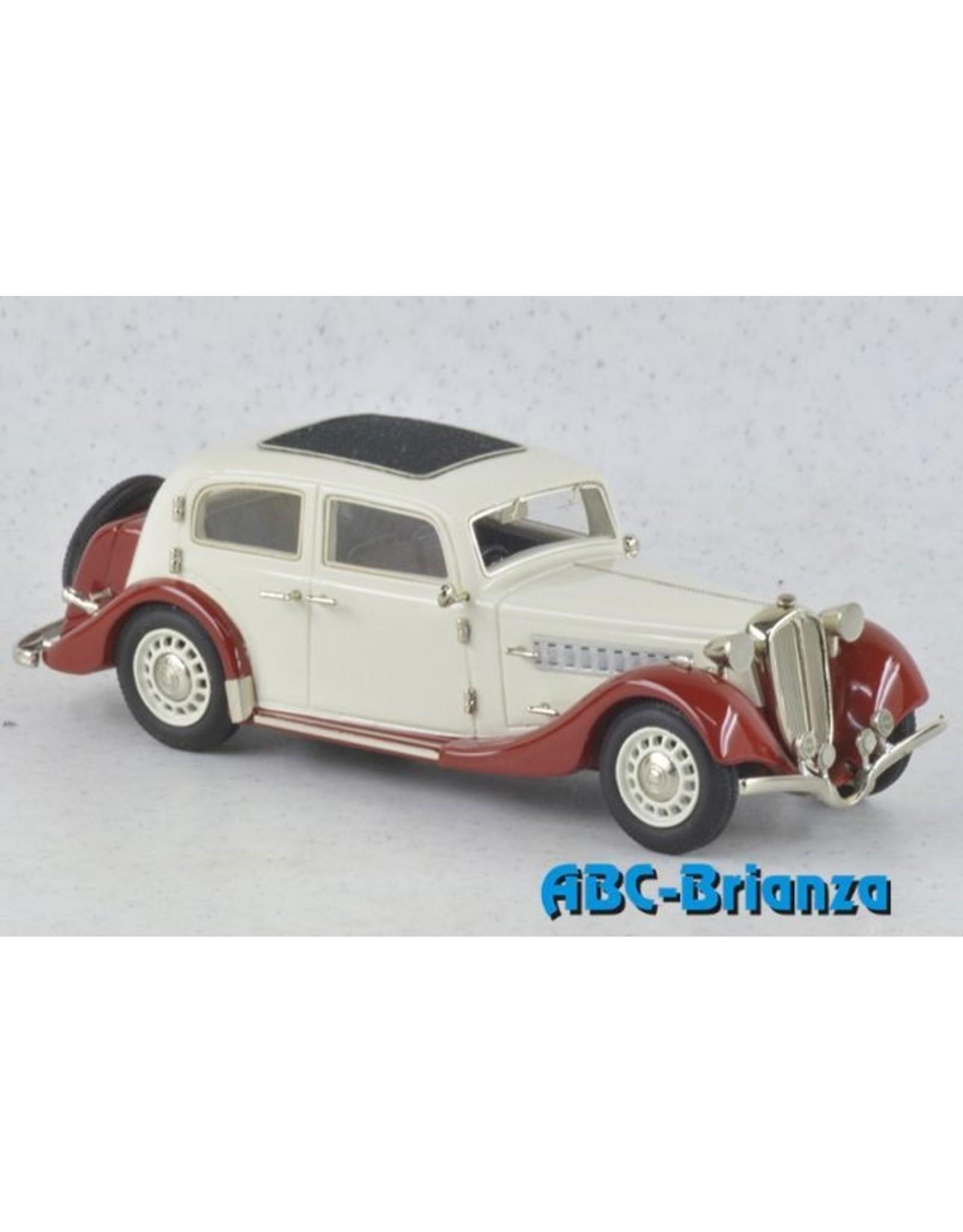 Delahaye DELAHAYE 134N AUTOBINEAU-1934(white/red).