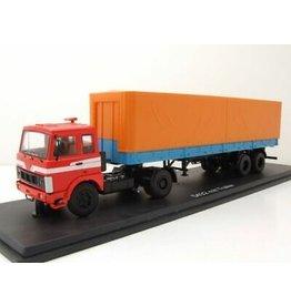 MAZ(Minski Avtomobilnyi Zavod) MAZ 5432(red/blue)with TRAILER MAZ 93971