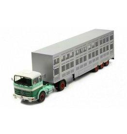 Mercedes-Benz MERCEDES LPS 1632,Animal transport(green/white)
