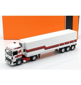 Renault RENAULT R370 TURBOLEADER(white/red)with cool trailer