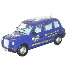 The London Taxi Company TX4 TAXI,REAL RADIO