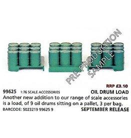 Accessories Oil Drum Loads(3x9 drums)