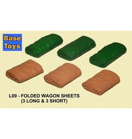 Accessories Folded Wagon Sheets(6)