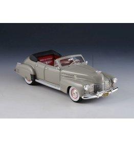 Cadillac(General Motors) CADILLAC SERIES 62 SEDAN CONVERTIBLE-1941(light grey)open top.
