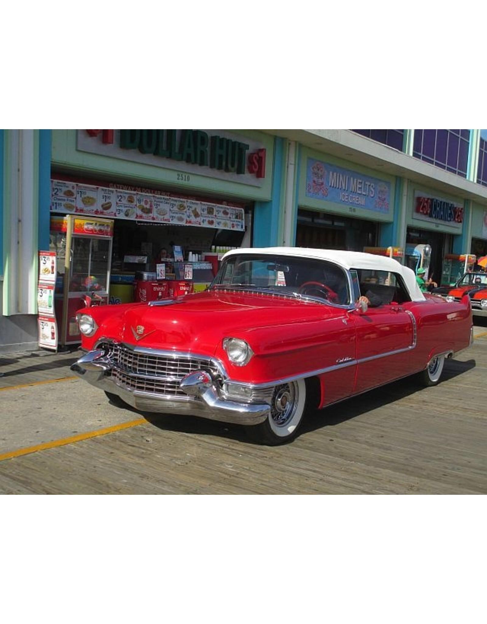 Cadillac(General Motors) CADILLAC SERIES 62 CONVERTIBLE 1955 (closed top)Dakota red