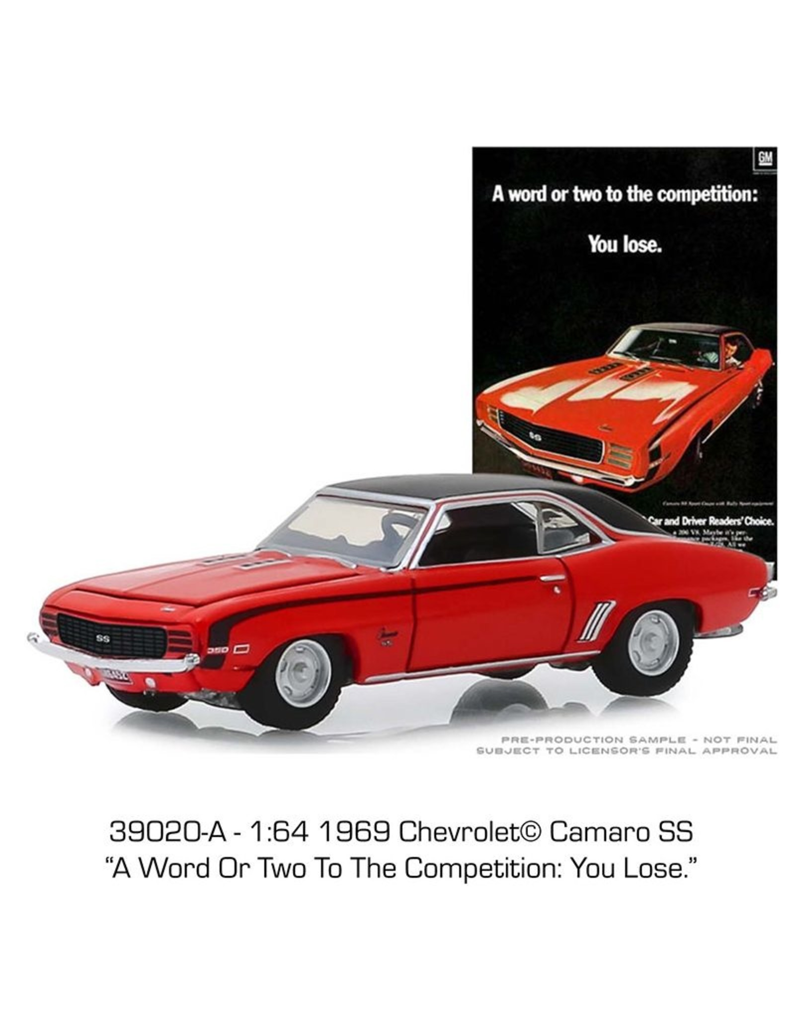 Chevrolet Chevrolet Camaro SS-1969