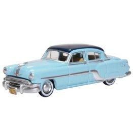 Pontiac PONTIAC CHIEFTAIN 4-door 1954(Mayfair blue/San Marino blue)