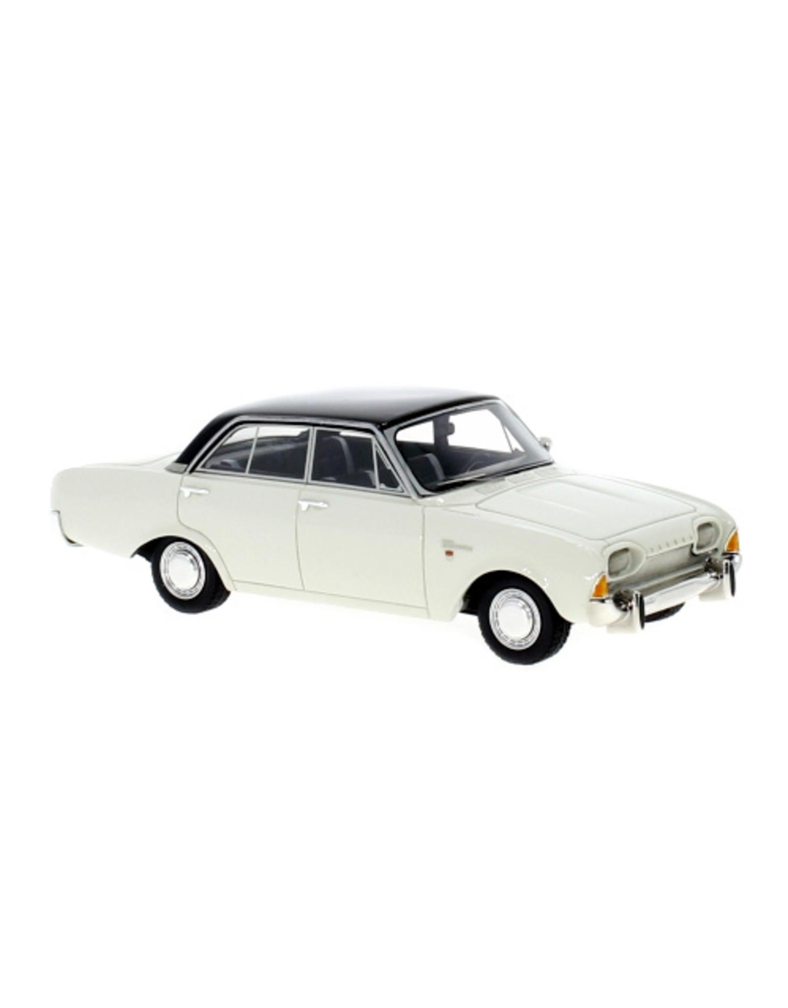 Ford Europe FORD TAUNUS 17m P3 4-door(white/black)1960