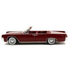 LINCOLN CONTINENTAL 53A CONVERTIBLE-1961(red).