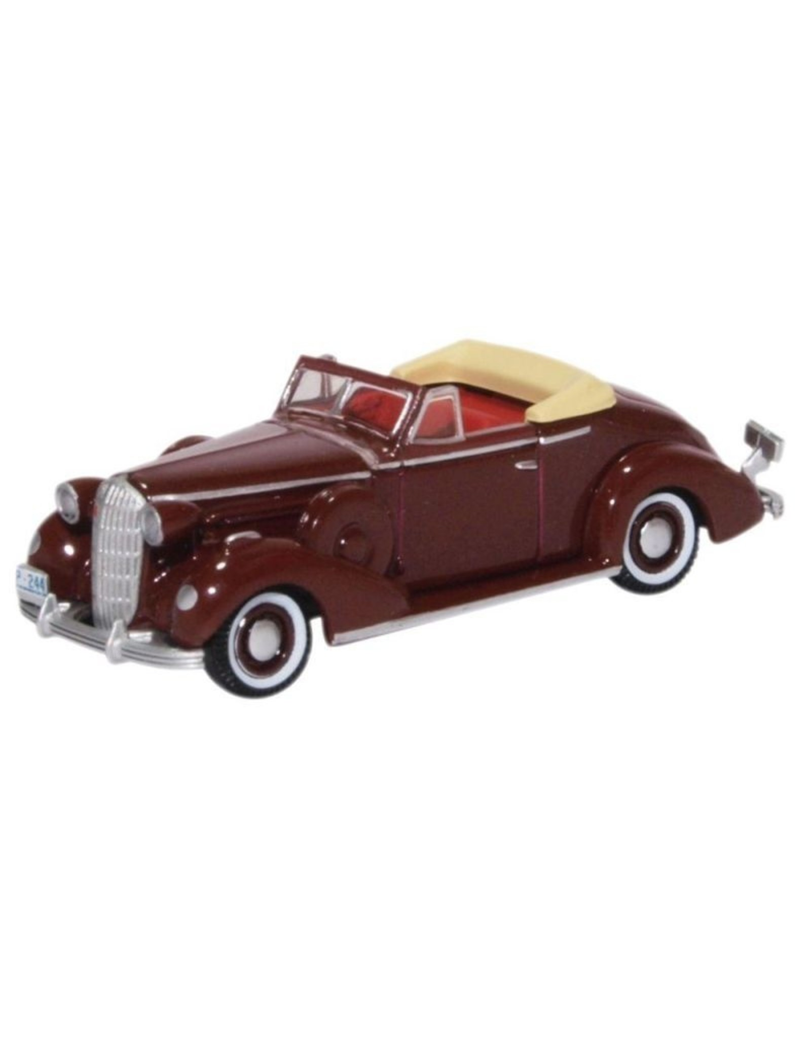 Buick BUICK SPECIAL CONVERTIBLE COUPE(dark red)