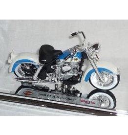 Harley Davidson HARLEY DAVIDSON FLH DUO GLIDE 1958(white/blue)