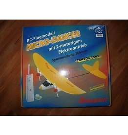 R/C R/C AIRPLANE MICRO-DANCER WITH 2 ELECTRIC ENGINES RTF