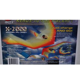 X-2000 iBOTZ X-2000 PL1001 Flying Wing