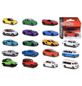 Different STREET CAR ASSORTIMENT(18 different models)