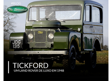 Land Rover by Tickford