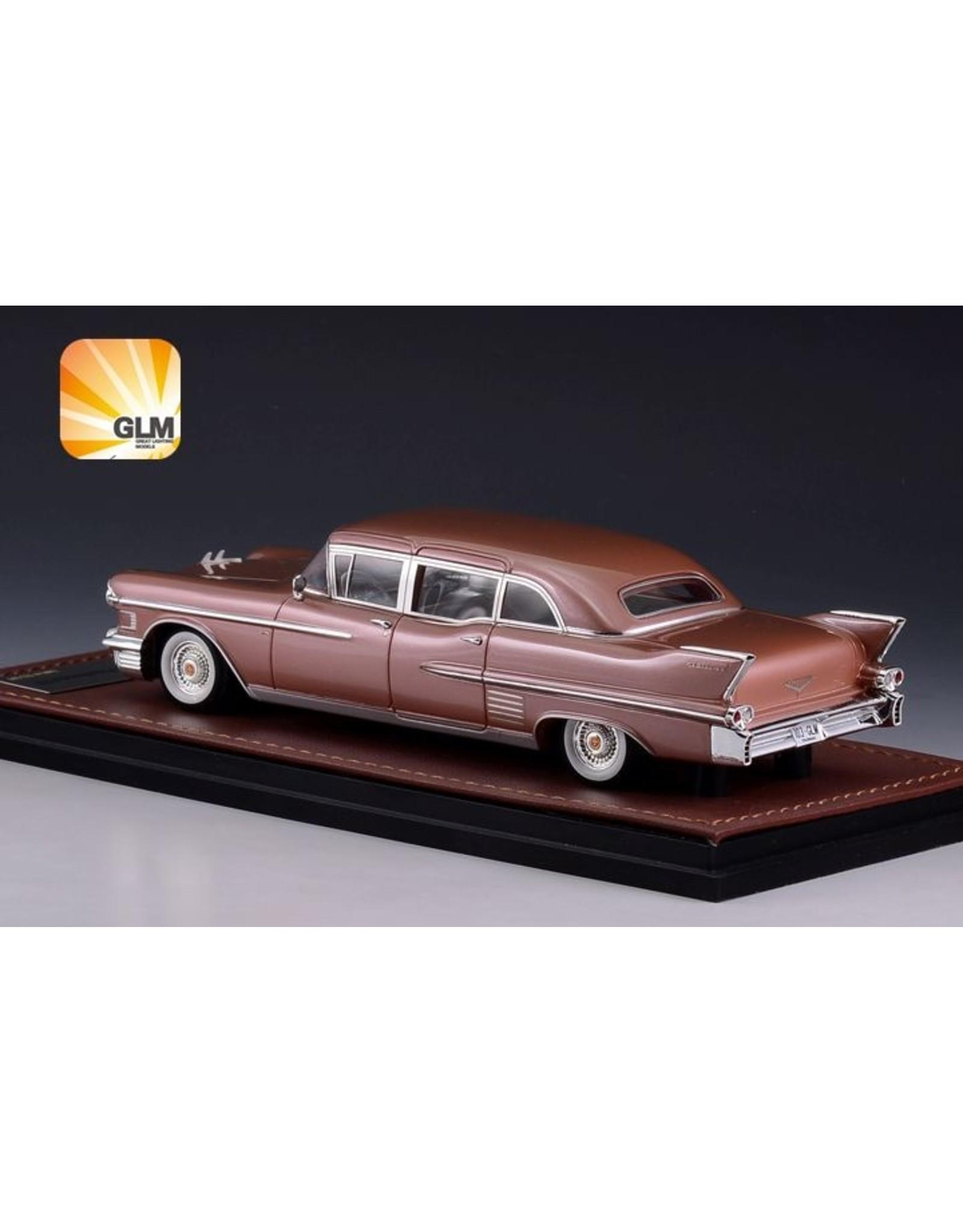 Cadillac(General Motors) Cadillac Fleetwood 75 Limousine(1958)desert bronze metallic.
