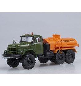 ZiL TANKER TRUCK 4,0(ZiL-131)khaki/orange