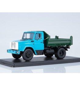 ZiL ZiL-MMZ-45085 DUMP TRUCK(blue/green)