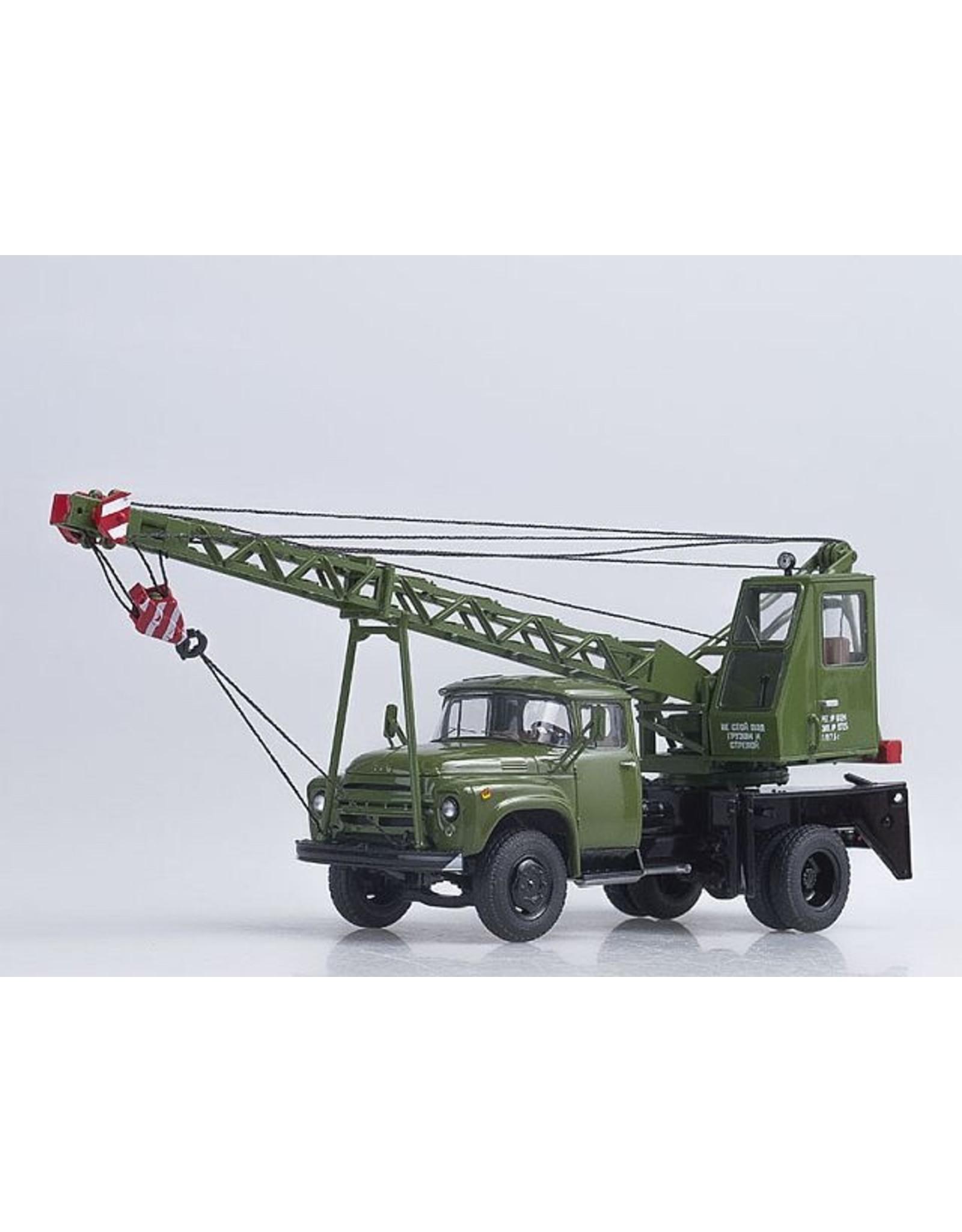 ZiL CRANE TRUCK AK75V,(ZiL-130)khaki