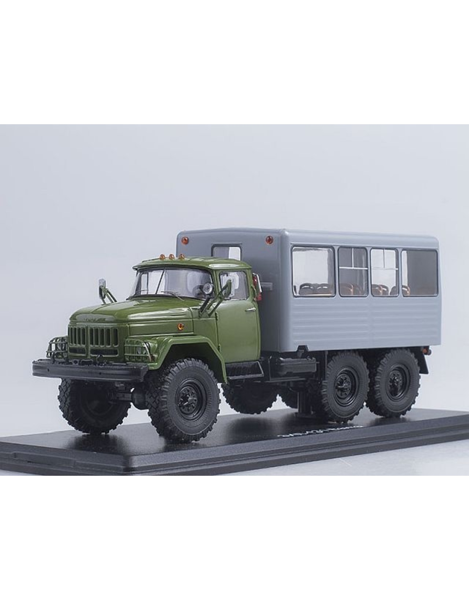 ZiL BUS TRUCK ZiL-131(khaki/grey)