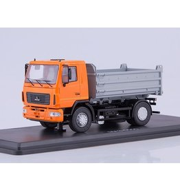 MAZ(Minski Avtomobilnyi Zavod) MAZ-5550 DUMPER TRUCK(facelift)orange/grey