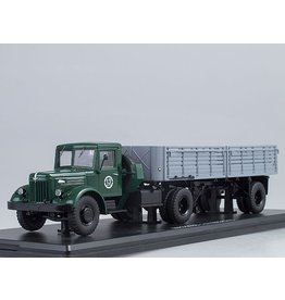 MAZ(Minski Avtomobilnyi Zavod) MAZ-200V WITH SEMITRAILER MAZ-5215