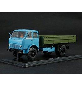MAZ(Minski Avtomobilnyi Zavod) MAZ-500 FLATBED TRUCK(blue/khaki)