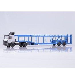 MAZ(Minski Avtomobilnyi Zavod) MAZ 5432 WITH CAR TRANSPORTER TRAILER 934410(A908)