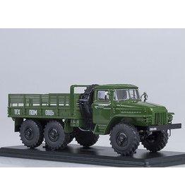 URAL AUTOMOTIVE PLANT URAL-375D FLATBED TRUCK(khaki)