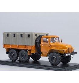 URAL AUTOMOTIVE PLANT URAL-375D FLATBED WITH TILT(orange)