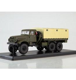 KrAZ KRAZ-214 MILITARY TRUCK WITH TILT