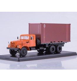 KrAZ KRAZ-257B1 CONTAINER TRUCK(orange)