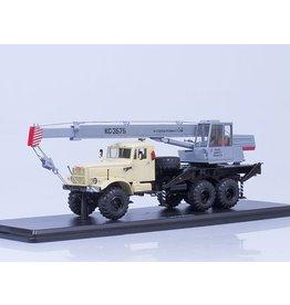 KrAZ TRUCK CRANE KS-3575 KRAZ-255B(beige/grey)