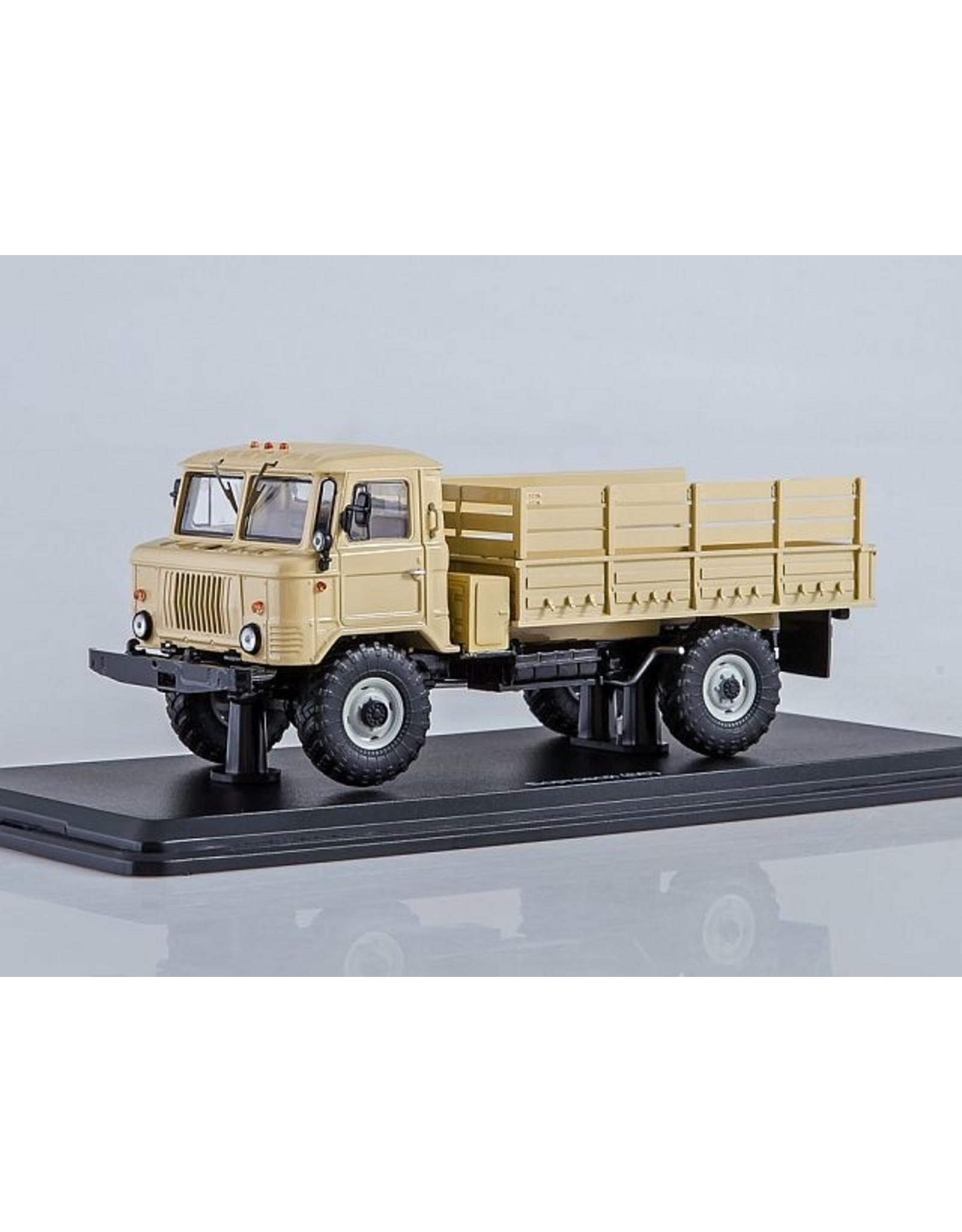 GAZ GAZ-66 FLATBED TRUCK(beige)