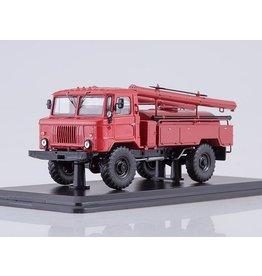 GAZ FIRE ENGINE AC-30(GAZ-66)red