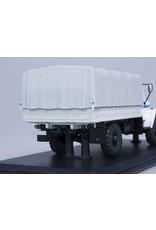 GAZ GAZ-3308 4x4 FLATBED TRUCK,POLICE