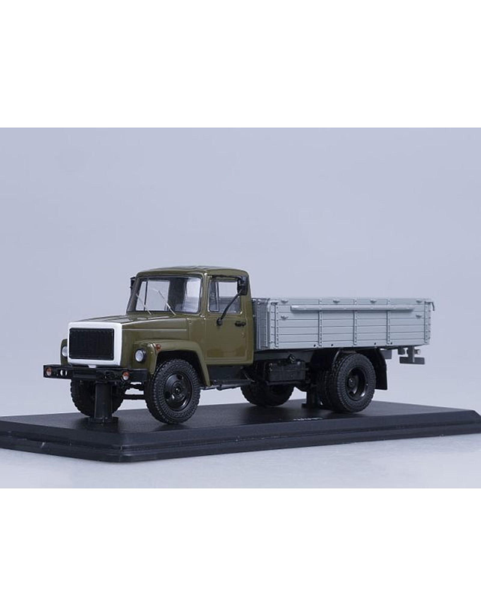 GAZ GAZ-3307 FLATBED TRUCK(khaki/grey)