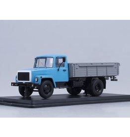 GAZ GAZ-3307 FLATBED TRUCK(blue/grey)