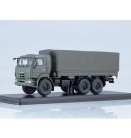 KAMAZ KAMAZ-43118 FLATBED TRUCK WITH TILT(facelift)khaki