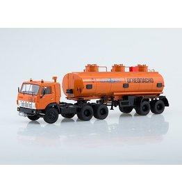 KAMAZ KAMAZ-54112 TRACTOR TRUCK WITH TANKER SEMITRAILER NEFAZ-96742(orange)