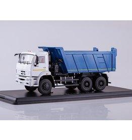 KAMAZ KAMAZ-6522 6x6 DUMP TRUCK(facelift)white/blue