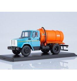 ZiL Vacuum tanker KO-520(ZiL-4333)blue/orange