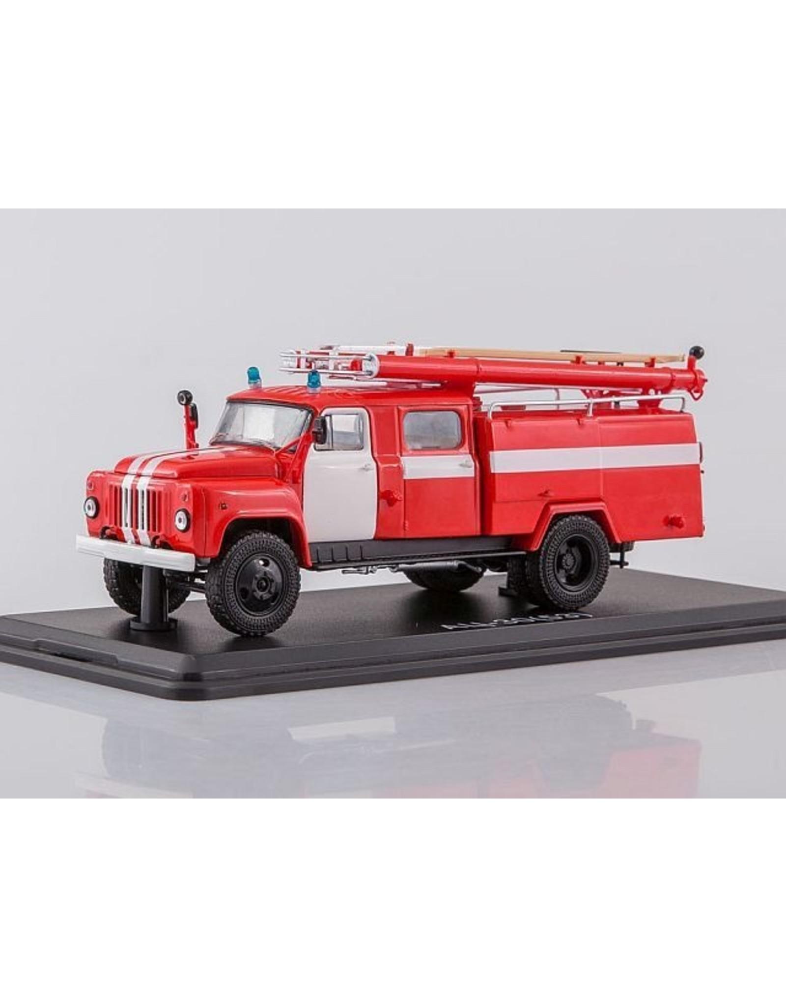 GAZ FIRE TRUCK AC-30(53-12)-106V(white stripes)